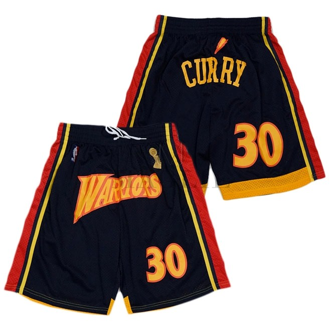 Pantaloni Basket Golden State Warriors Curry Nero A Poco Prezzo Online