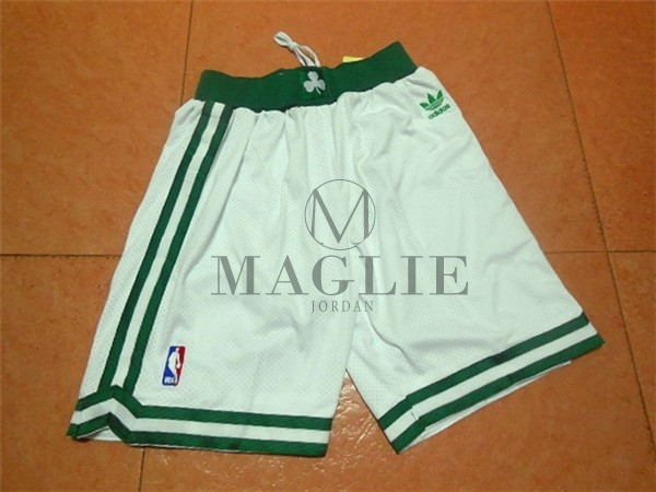 Pantaloni Basket Boston Celtics Retro Nero A Poco Prezzo Online