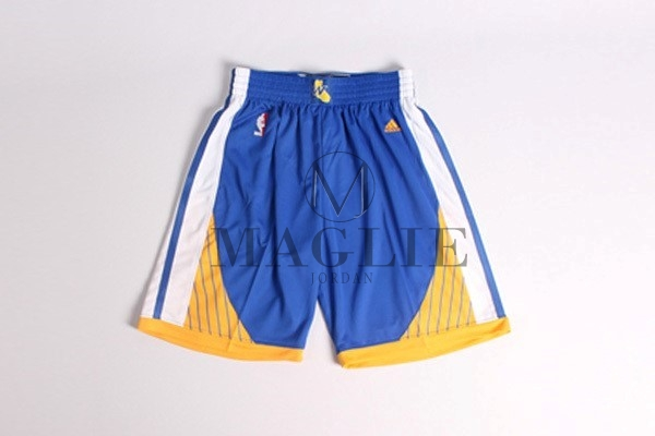 Pantaloni Basket Golden State Warriors Blu A Poco Prezzo Online