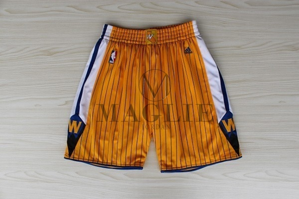 Pantaloni Basket Golden State Warriors Giallo A Poco Prezzo Online